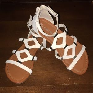 NWOT Cherokee girls gladiator sandals